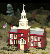 New In Box  O/S Scale Plasticville Town Hall Kit  by Bachmann