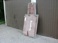 ( GÖRGEN )  1 Anhänger Kastenaufsatz Länge 170 cm gebraucht
