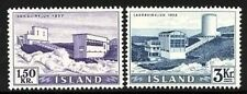 ICELAND 1956 ELECTRIC PLANT SC.#292,295 KEY STAMPS CV.$41.50  YOU DON'T HAVE IT?
