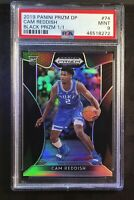 TRUE 1/1 2019-20 PRIZM DP CAM REDDISH BLACK Prizm 1/1,PSA 9 DUKE HAWKS RC Rookie