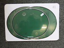 Number Backgrounds Plates CR 250 1978-1979 GREEN Decals