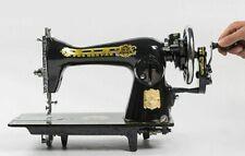 AbabilFly Semi-Industrial Negrita Sewing Machine w/ Crank Handle powered by Hand