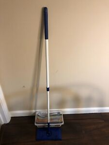 Bona mop with wet disposable cleaning pads