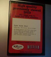 Eyes Wide Shut (Dvd, 2000) Kubrick