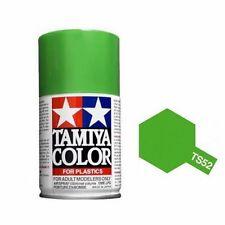 Tamiya TS-52 Candy Lime Green Spray Paint Can  3.35 oz. (100ml) 85052