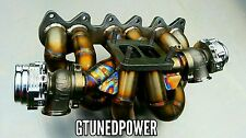 T4 twin scroll VR6 turbo manifold gtx garrett VR6T Golf R32