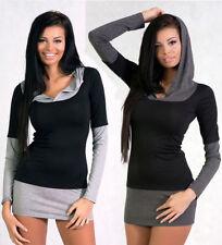Markenlose Damenblusen, - tops & -shirts mit Kapuze S