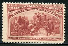 UNITED STATES COLUMBIAN SCOTT#242 MINT NEVER HINGED WITH PF CERTIFICATE
