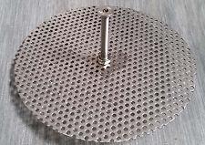 Edelstahl Vorfilterlochblech für Skimmerkorb 150 mm, inkl. Schraubverlängerung
