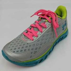 Under Armour Womens Spine RPM Running Shoes Gray Lace Up Low Sneakers Size 6.5