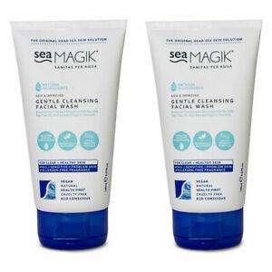 Sea Magik Gentle Cleansing Facial Wash 150ml/ 5.07fl.oz - Pack of 2