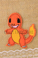 Charmander Pocket Monster pants hat Iron on Embroidered Badge Applique Patches