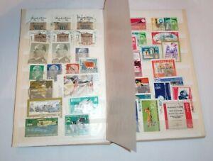 Briefmarken DDR Album diverse Themen Block #747