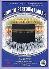 How To Perform Umrah, Explained in Simple English, Pocket Size Book, Hajj & Umra