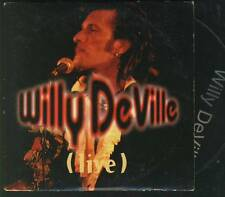 WILLY DEVILLE Live RARE FRENCH PROMO CD SINGLE