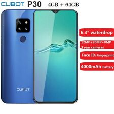 Cubot P30 Smartphone 4GB+64GB Android 9.0 Octa Core 20MP CELLULARE Telefono 2SIM
