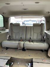 01-06 Chevy Tahoe GMC Yukon Cadillac Escalade Third Row Seats Tan 3rd 2000-2006