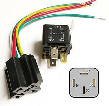 4 Pin 12V 30A Relay With Prewired Base For Protection Starter On/Off Switch