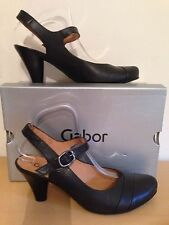 Gabor Women's 100% Leather Cuban Mid Heel (1.5-3 in.) Shoes