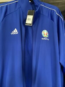 Euro 2020 Adidas Zip Jacket. New With Tags.