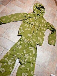 LIGHT GREEN Soviet Russian Army camouflage KZS Berezka Camo Meshy Suit size 2