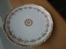 Vintage /Antique Theodore Haviland Limoges France Porcelain Plate Floral Design