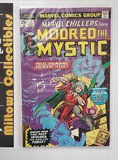 MARVEL CHILLERS #1(Marvel, 1975) 1st App Modred The Mystic