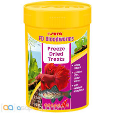 sera FD Bloodworms Freeze Dried Treats 100mL Rote Mueckenlarven