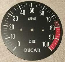 DUCATI 750SS 900SS VEGLIA REVCOUNTER DIAL FACE