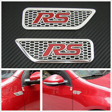 Car SUV Body Tank Cover Fender C-Pillar 3D 3D RS Side Wing Emblem Sticker SPORT