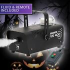 Halloween Smoke Fog Mist Machine Effect Decorations House Party FREE FLUID <br/> 🔥 FREE Fluid 🔥 Remote 🔥 Halloween Best Seller 🔥