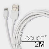 USB Lightning Daten Lade Kabel iPhone 6 6S Plus 5 5S 5C SE iPad iPod Weiß 2m
