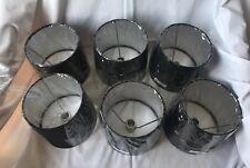 6 New Drum Lamp Shades