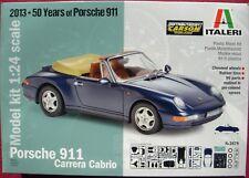 ITALERI 3679 PORSCHE 900 CARRERA CABRIO 1:24 * 50 YAHRE PORSCHE 911 - NEU