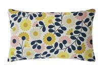 ORLA KIELY KIMONO OCHRE YELLOW 200TC 100% COTTON PAIR OF HOUSEWIFE PILLOWCASES