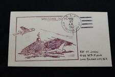 NAVAL COVER 1962 SHIP CANCEL WELCOME TO PEARL USS CONSTELLATION (CVA-64) (4847)