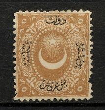 (YYAR 631) Turkey 1867 MNG Mich 10 (III) DUE PORTO