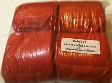 New Pony Fleece Polo Wraps - Bright Orange - Set of 4