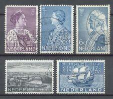 Nederland  265 - 269 gebruikt (2)