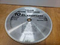 """Vintage SEARS / CRAFTSMAN - Kromedge 10"""" Saw Blade - 9 32446 (S-16-202-B-K)"""