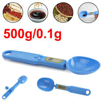 500g/0.1g Digital Kitchen Mini Spoon Scale Electronic LCD Measure Food Weight