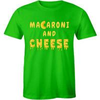 Brand New Macaroni And Cheese Shirt Food Pasta Lover Men's T-shirt Tee