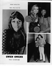 GWEN OWENS NORTHERN SINGER PRESS GLOSSY PROMO 8X10 MUSIC PHOTO PICTURE R&B SOUL