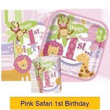 Decorazioni rosa compleanno bambino per feste e party