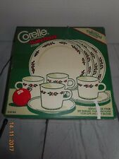 Corelle Holly Days Vintage 1980's Dinnerware