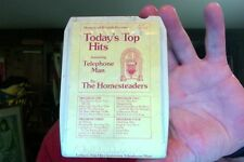 The Homesteaders- Today's Top Hits w/Telephone Man- used 8 Track tape- rare?