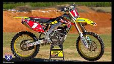 Suzuki Makita RMZ RM 125 250 450 Graphics Decals any year 1990-present