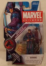 "Marvel Universe 3.75"" Series 2 #031 Hasbro Dark Hawkeye (Bullseye) Mint On Card"