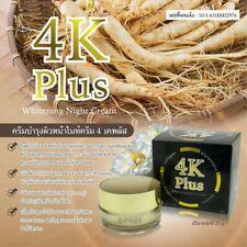 4K Plus Whitening Night Cream 20  g