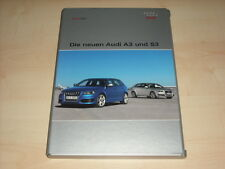 55683) Audi A3 + S3 Pressemappe 05/2008